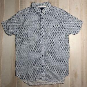 Tommy Hilfiger Men's Diamond Pattern Shirt
